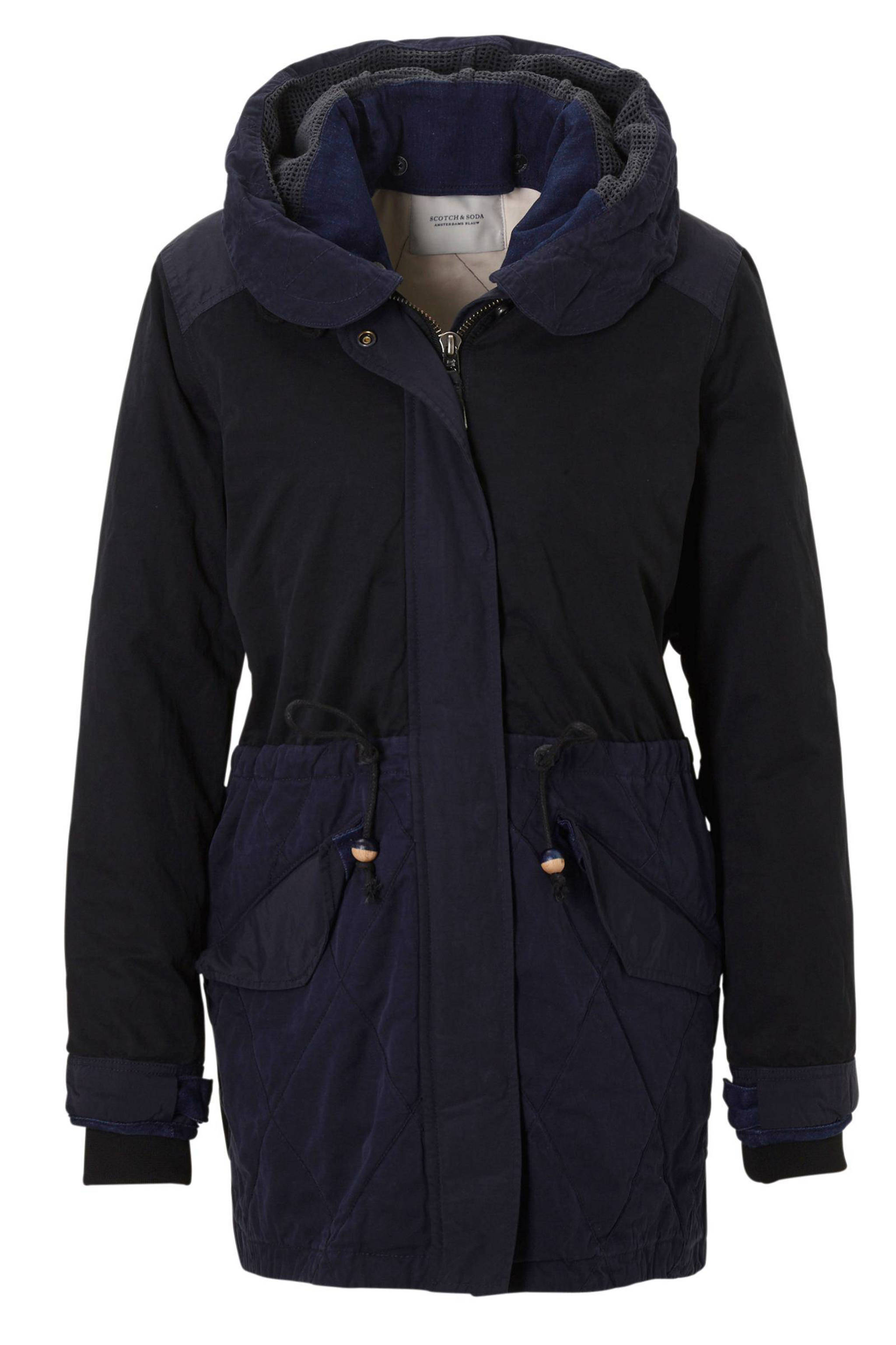 Parka Winterjas Dames.Scotch Soda Maison Scotch Parka Jas Wehkamp