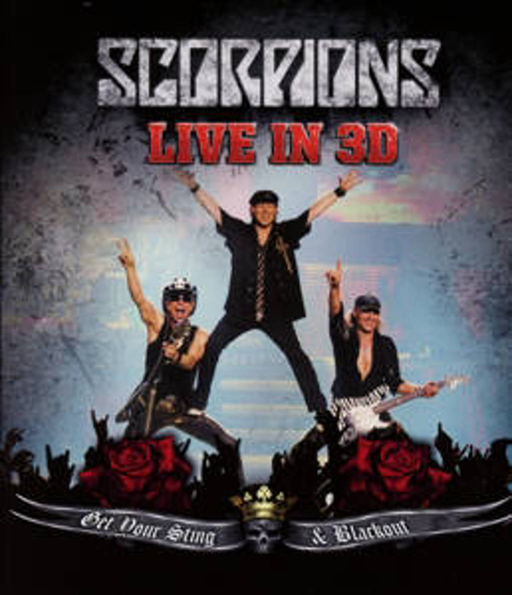 Scorpions - Get Your Sting And Blackout Li (Blu-ray)