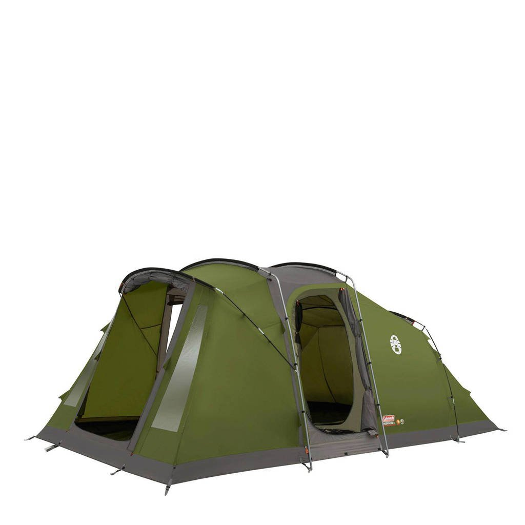 Coleman  Vespucci 4-persoons tunneltent, Green