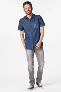 Petrol Industries tapered fit jeans Tymore grey denim, Grijs denim