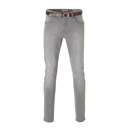 Petrol Industries tapered fit jeans Tymore grey de