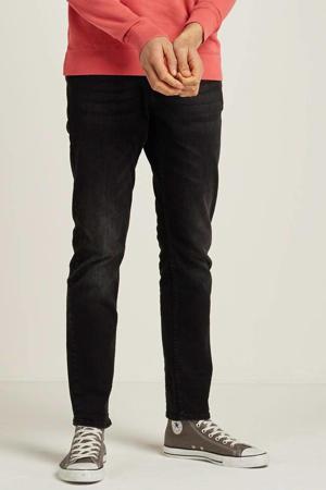 tapered fit jeans Tymore zwart denim