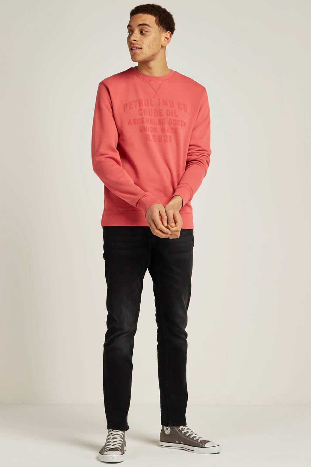Petrol Industries Tymore regular tapered fit jeans, Zwart denim