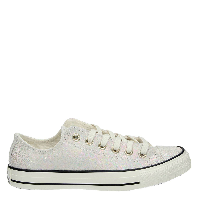 cbd98c65bdb Converse All Star leren sneakers | wehkamp