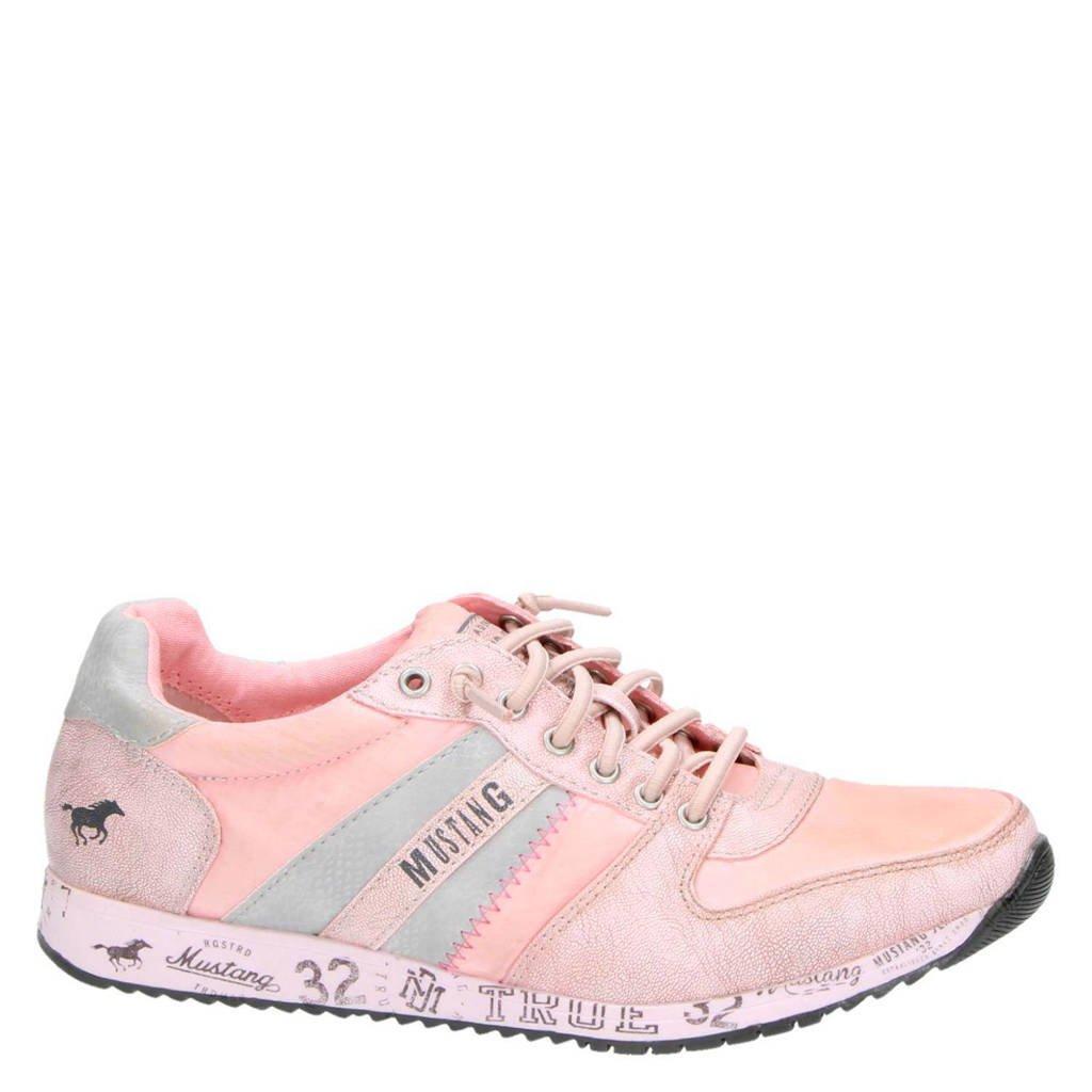 Mustang sneakers, Rose