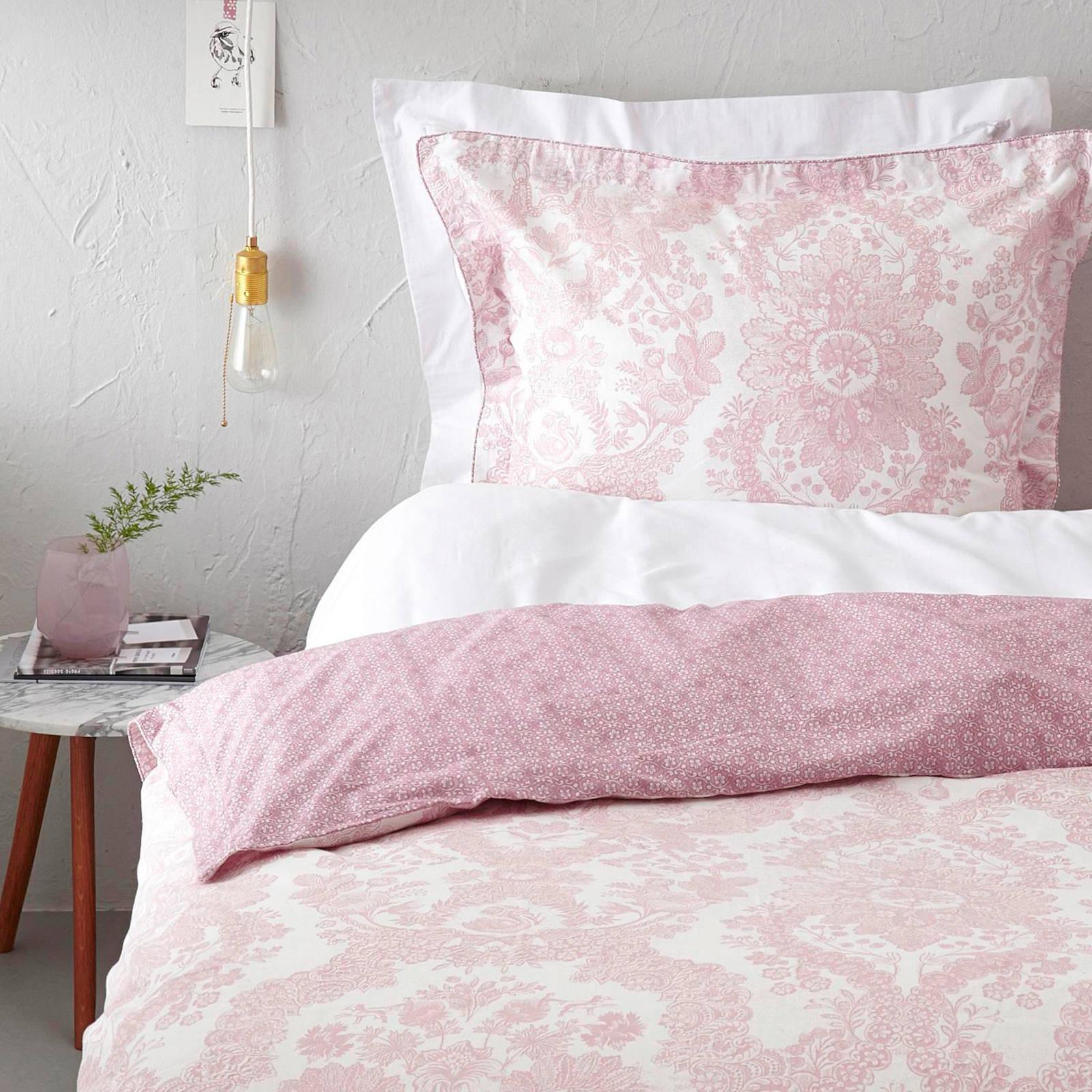 pip studio linnen dekbedovertrek 2 persoons roze