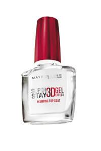 Maybelline New York Superstay 3D Gel topcoat - Transparant