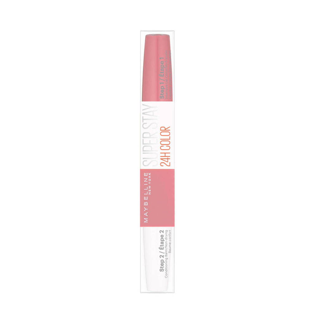 Maybelline New York SuperStay 24H lippenstift - 130 pinking of you, 130 Pinking of You