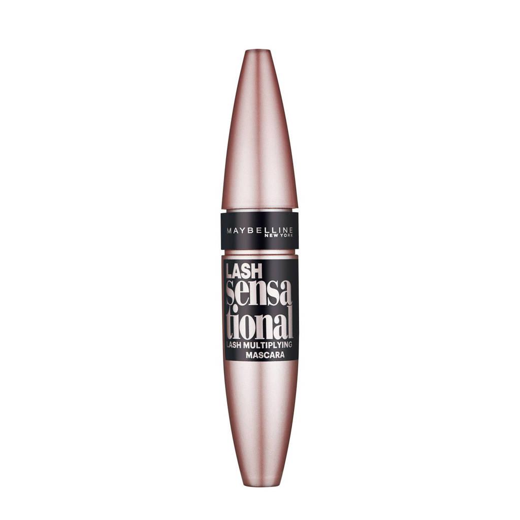 Maybelline Lash Sensational Intense Black mascara - Zwart, Extra intensieve kleuring