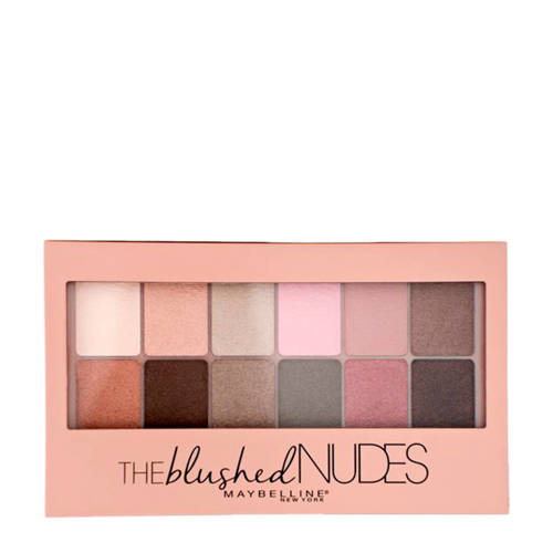 Maybelline The Blushed Nudes oogschaduwpalette