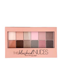 Maybelline New York The Blushed Nudes oogschaduwpalette, 01 Blushed Nude