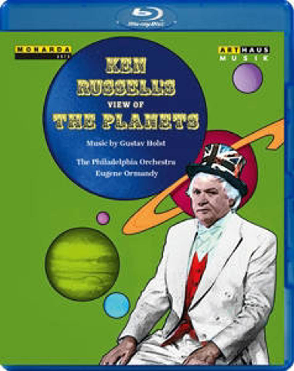 The Philadelphia Orchestra - Ken Russels's View Of The Planets, (Blu-ray)