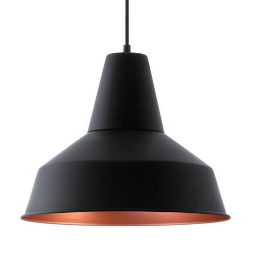 Eglo Somerton Hanglamp Zwart-Koper 35 cm