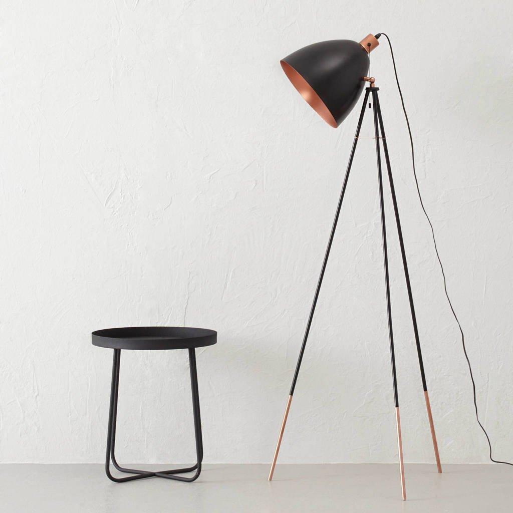 Eglo vloerlamp, Zwart/koper