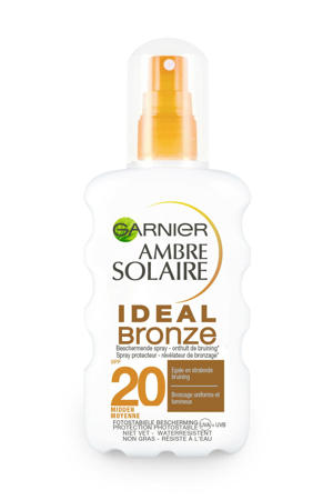 Ambre Solaire Ideal Bronze zonnebrand spray SPF 20 - 200 ml