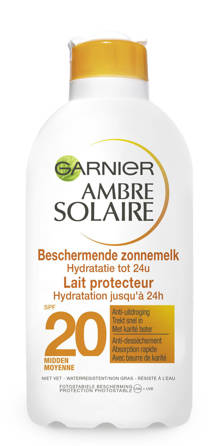 Ambre Solaire hydraterende zonnebrand SPF 20 - 200 ml