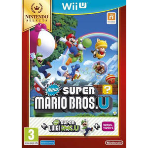 Newsuper Mario Bros U + New super Luigi U (selects) (Nintendo Wii U)