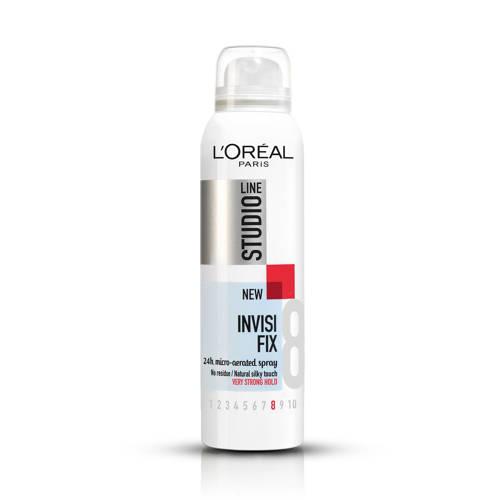 L'Oréal Paris Studio Line Essentials Invisi Fix 24H Micro-Diffusion haarspray - 250 ml