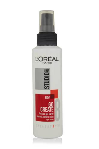 Studio Line Go Create Precise Gel Spray Super Strong haargel spray- 150 ml