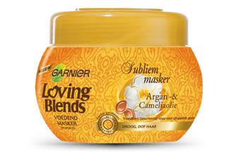 Loving Blends Argan & Cameliaolie Subliem haarmasker - 300 ml
