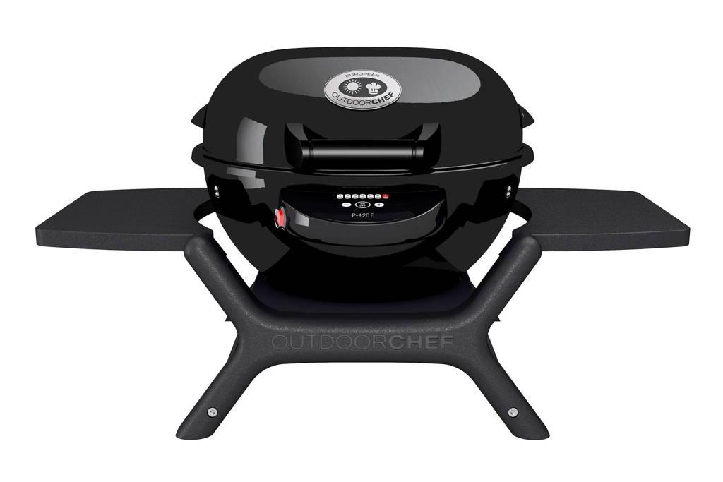 Outdoorchef P-420 E Minichef elektrische barbecue, Zwart