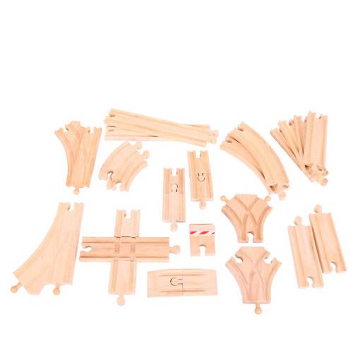 Big Jigs houten rails uitbreidingsset kopen