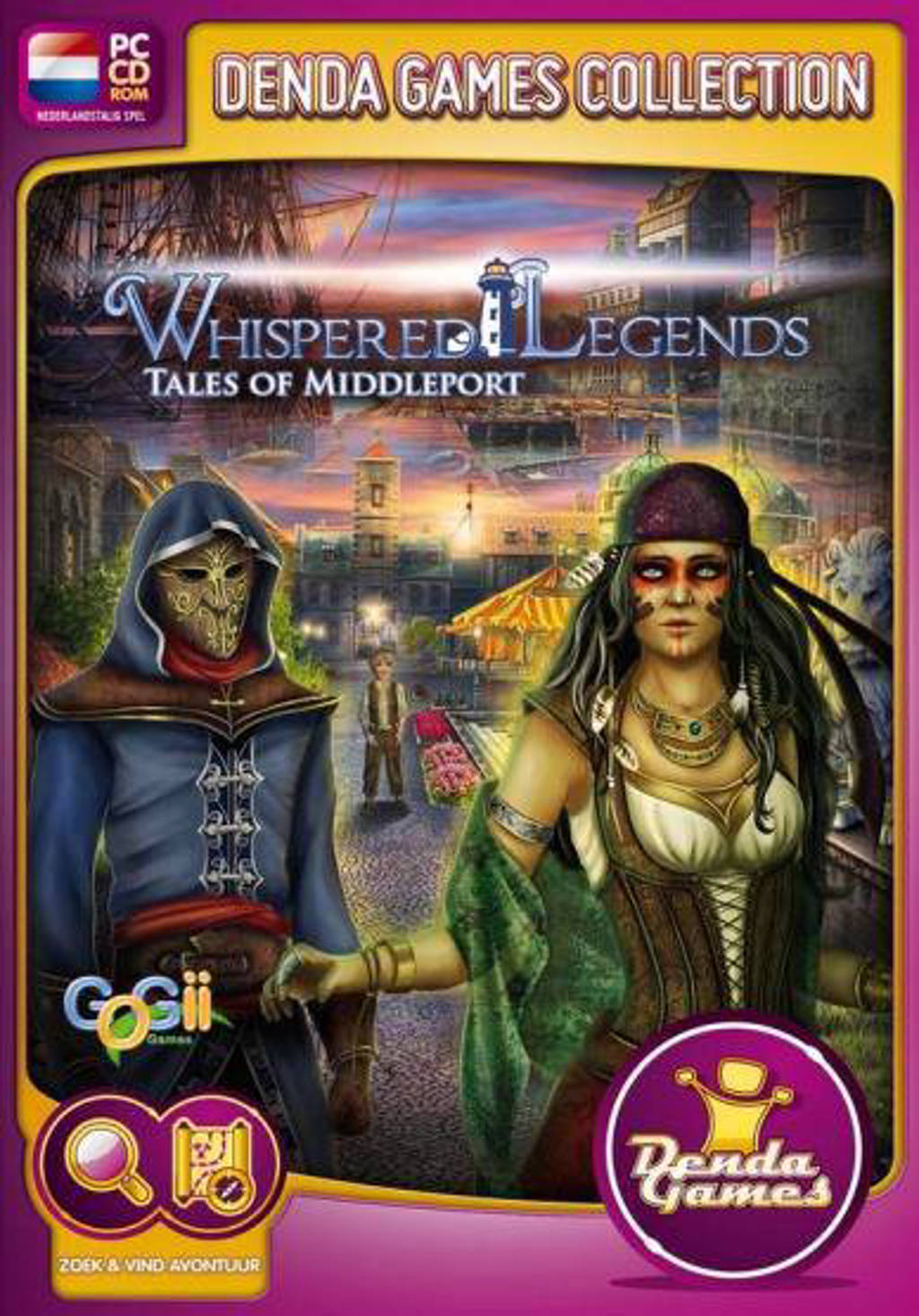 Whispered legends - Tales of middleport (PC)