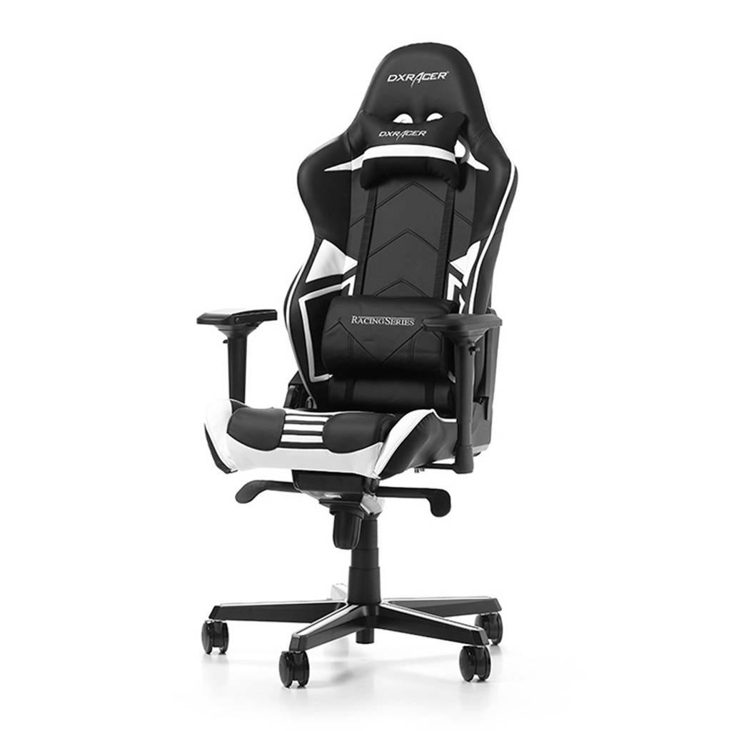 DXRacer Racing Pro R131-NW gamestoel zwart/wit