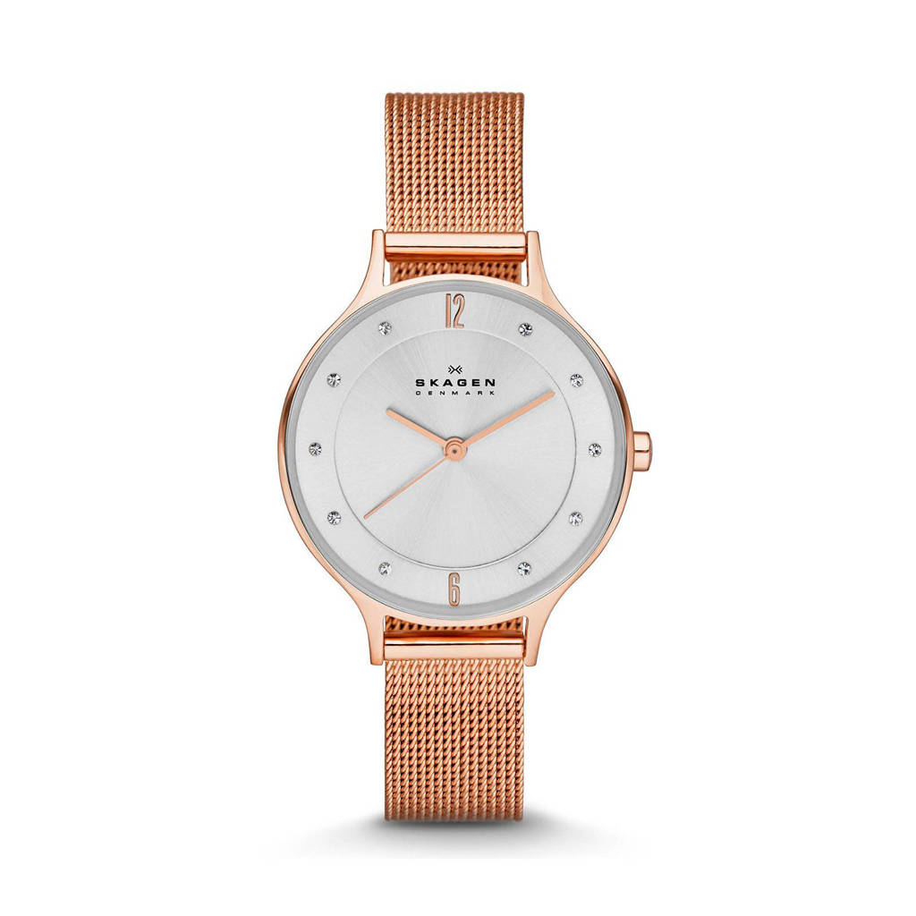 Skagen Anita Dames Horloge SKW2151, roségoud