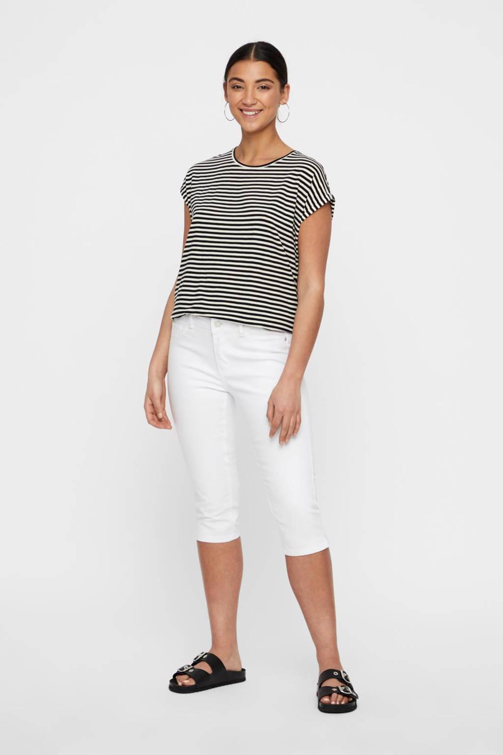 VERO MODA 5-pocket capri jeans, Wit