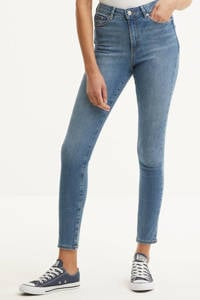 VERO MODA high waist skinny jeans VMSOPHIA light blue denim, Lichtblauw