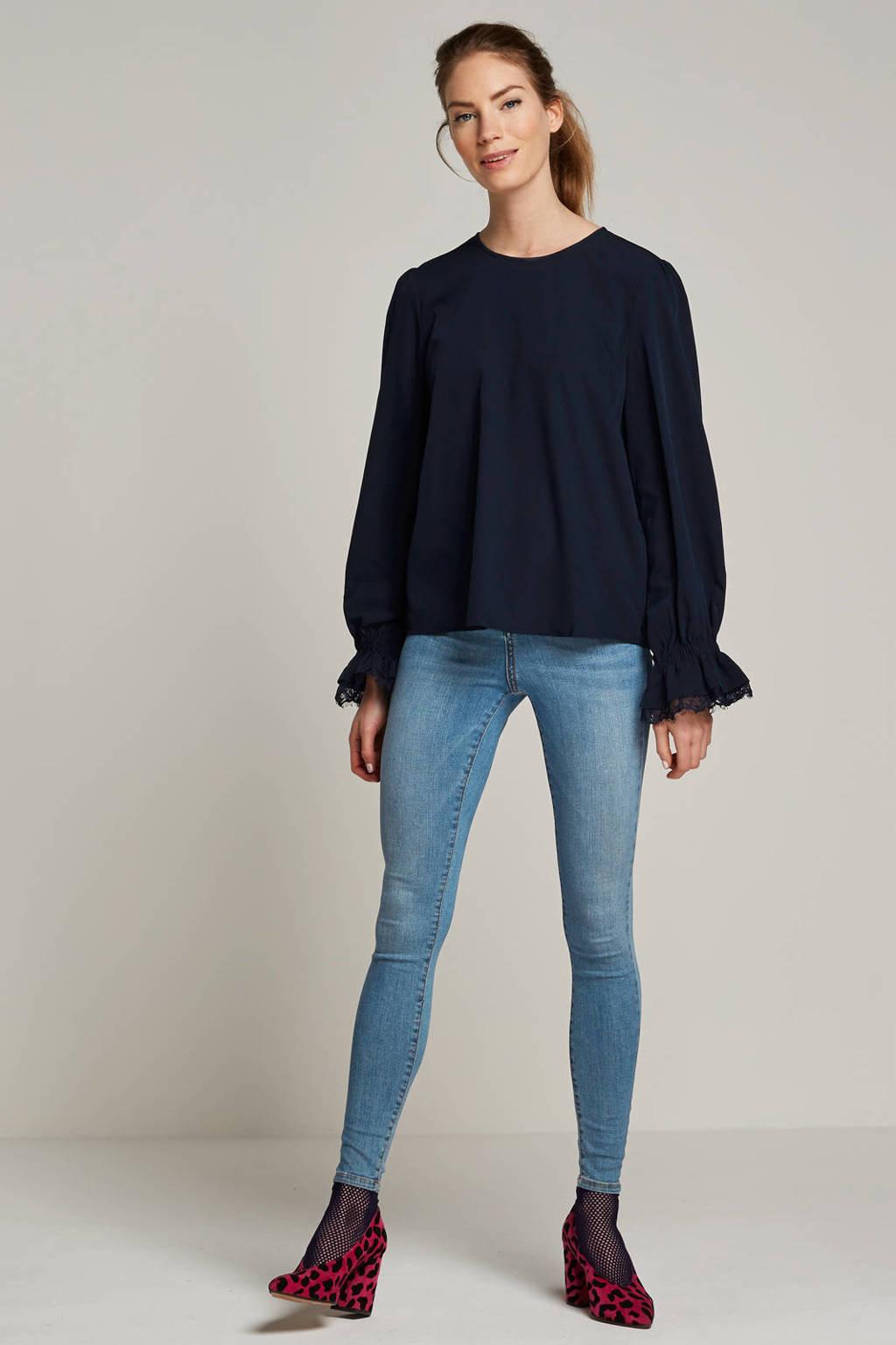 VERO MODA high waist skinny jeans sophia, Lichtblauw