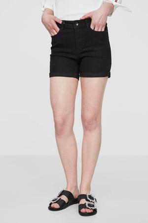 regular waist slim fit jeans short