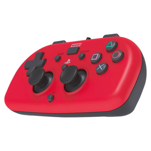 Hori PlayStation 4 mini-wired gamepad rood kopen