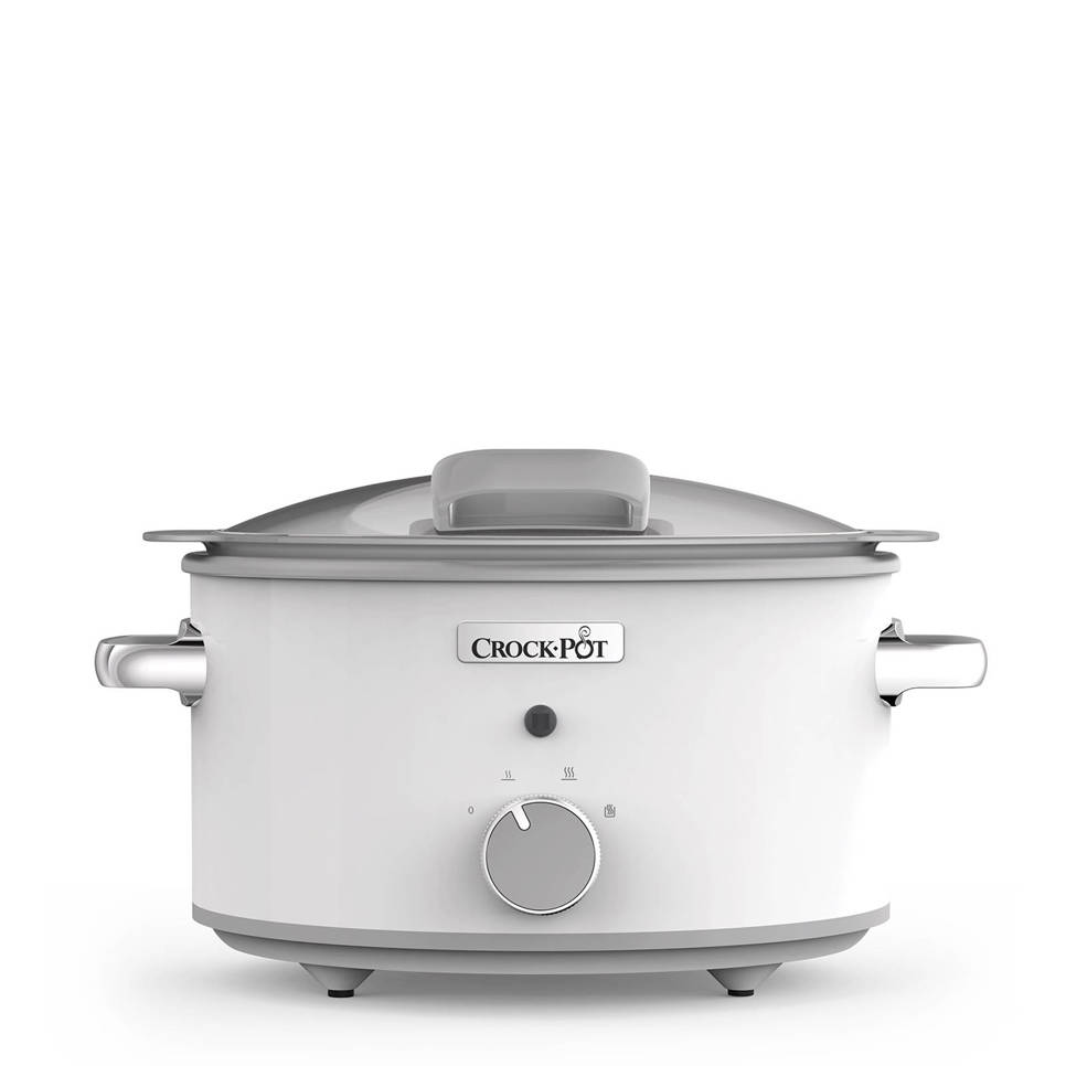 Crock.Pot CR038 DuraCeramic Saute slowcooker, 5 liter, Wit