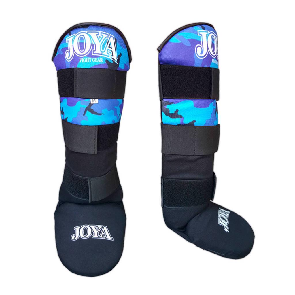 Joya scheenbeschermers Velcro Camo M, Blauw