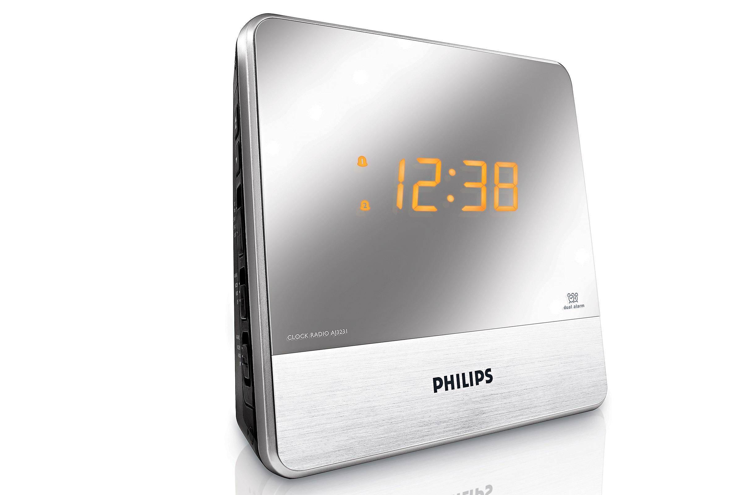 Philips Wekker Licht : Philips aj3231 wekkerradio wehkamp