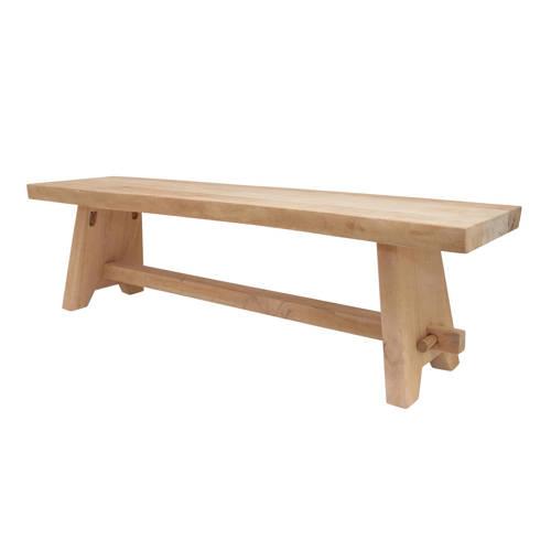 HKliving eetkamerbankje Wooden bench kopen