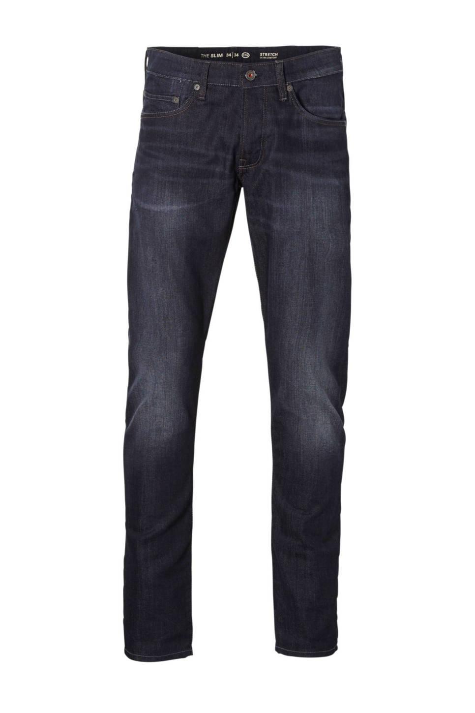 C&A The Denim slim fit jeans, Donkerblauw