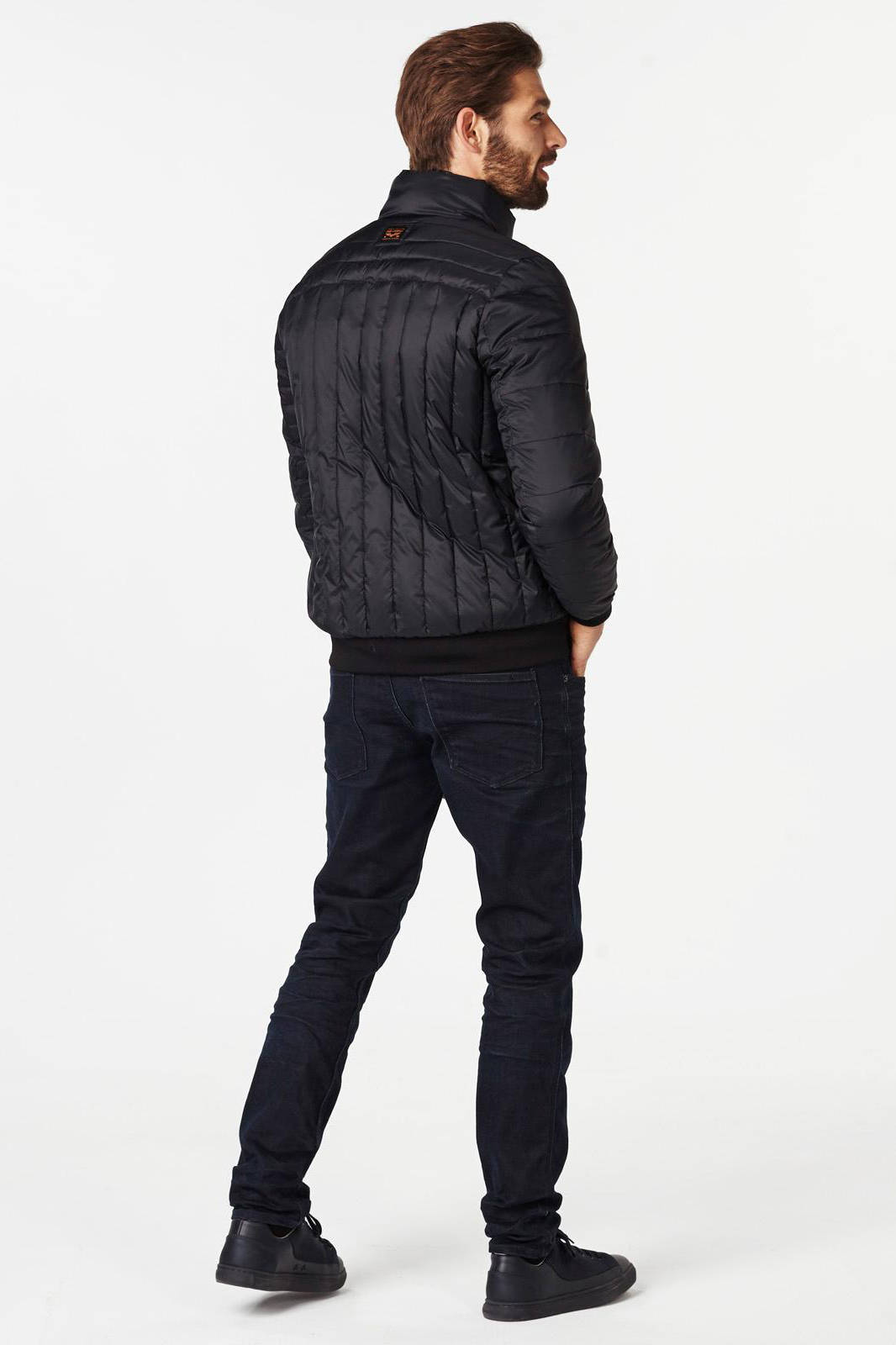 PME Legend Flight jacket spartan black Winter Jassen Zwart