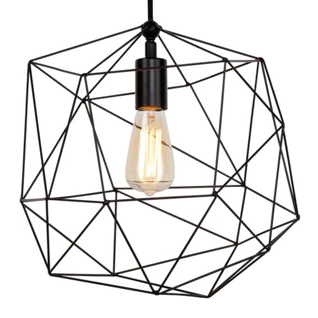 It's about RoMi hanglamp Copenhagen, Zwart