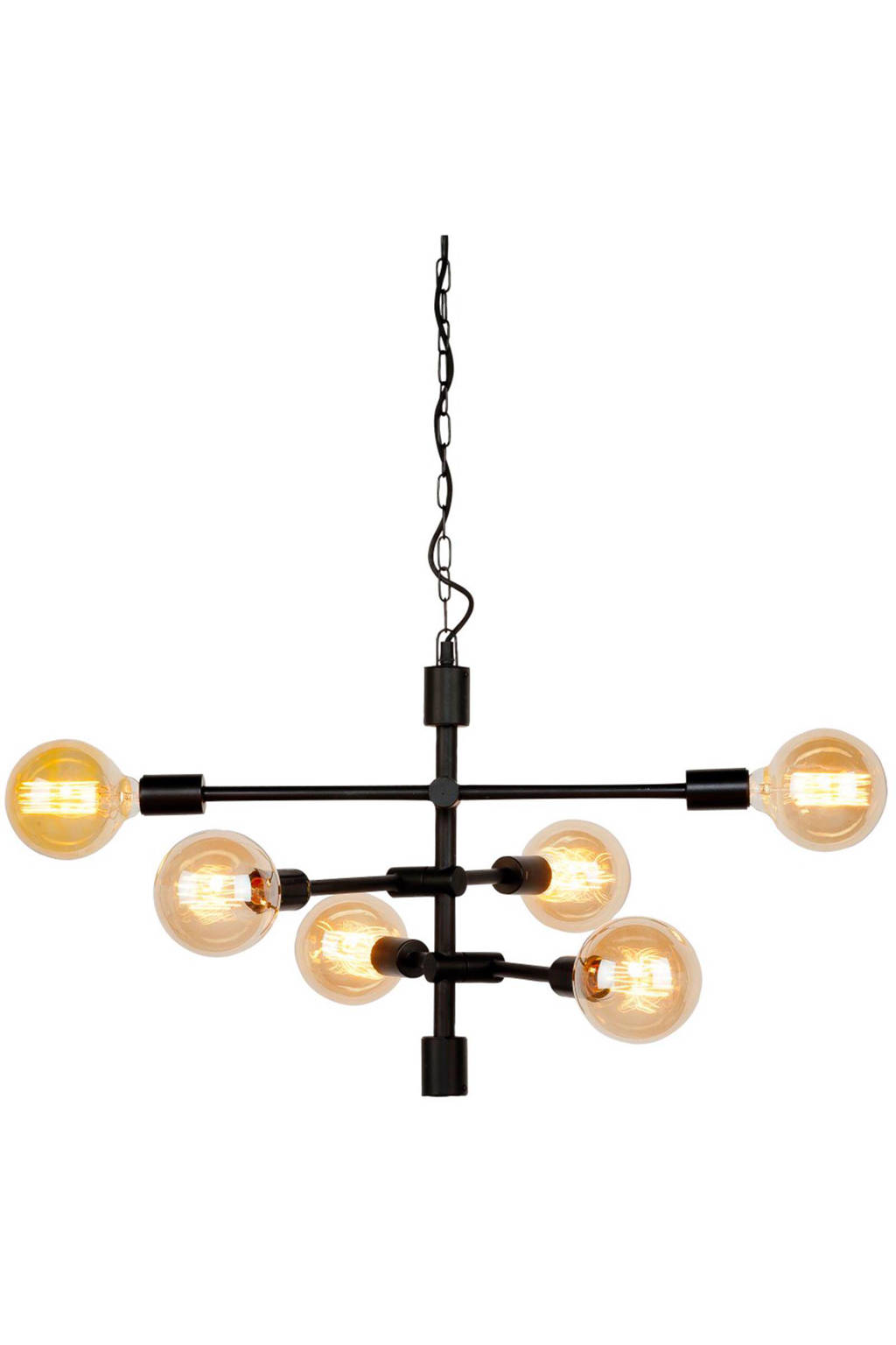 It's about RoMi hanglamp Nashville, Zwart
