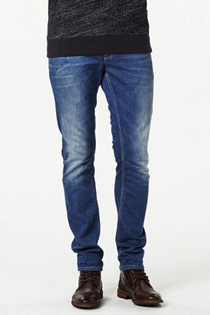 tapered fit jeans Skymaster stone wash