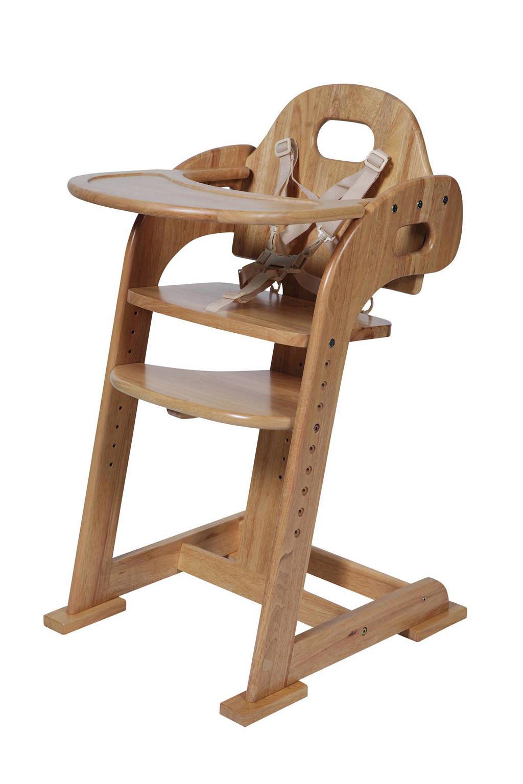 Inklapbare Kinderstoel Hout.Hout Meegroeistoel Naturel Wehkamp