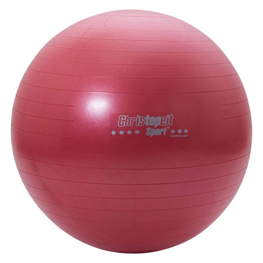 Christopeit  fitness bal (65 cm) - rood, Rood