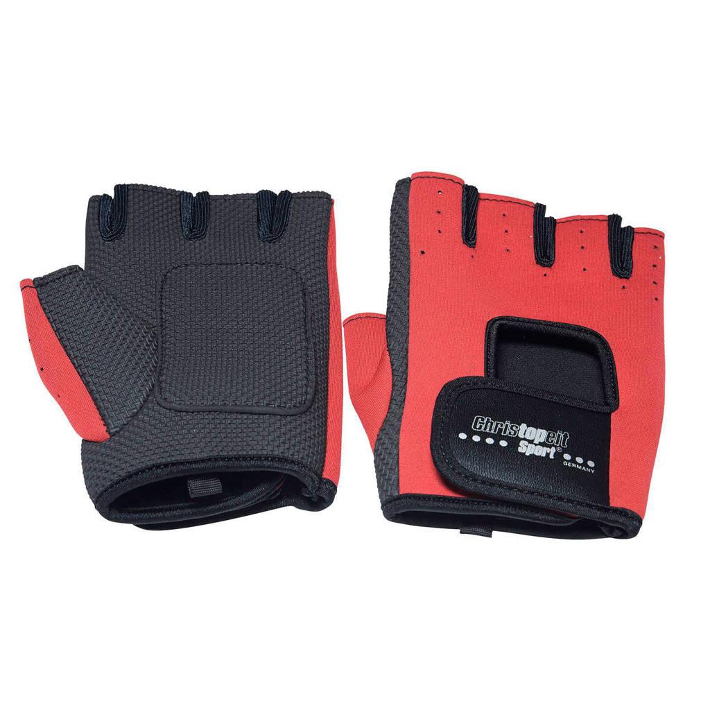 Christopeit maat L fitness handschoenen, Maat L