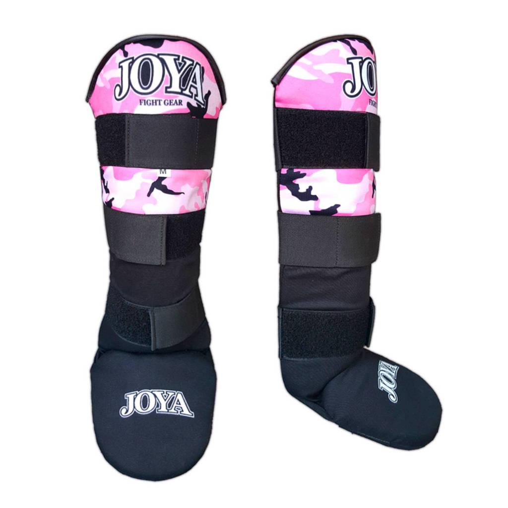 Joya scheenbeschermers Velcro Camo S, Roze