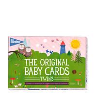 Milestone baby fotokaarten Twins Original (48 stuks), Multi