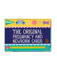 Milestone Pregnancy and Newborn fotokaarten (30 stuks), Donkerblauw