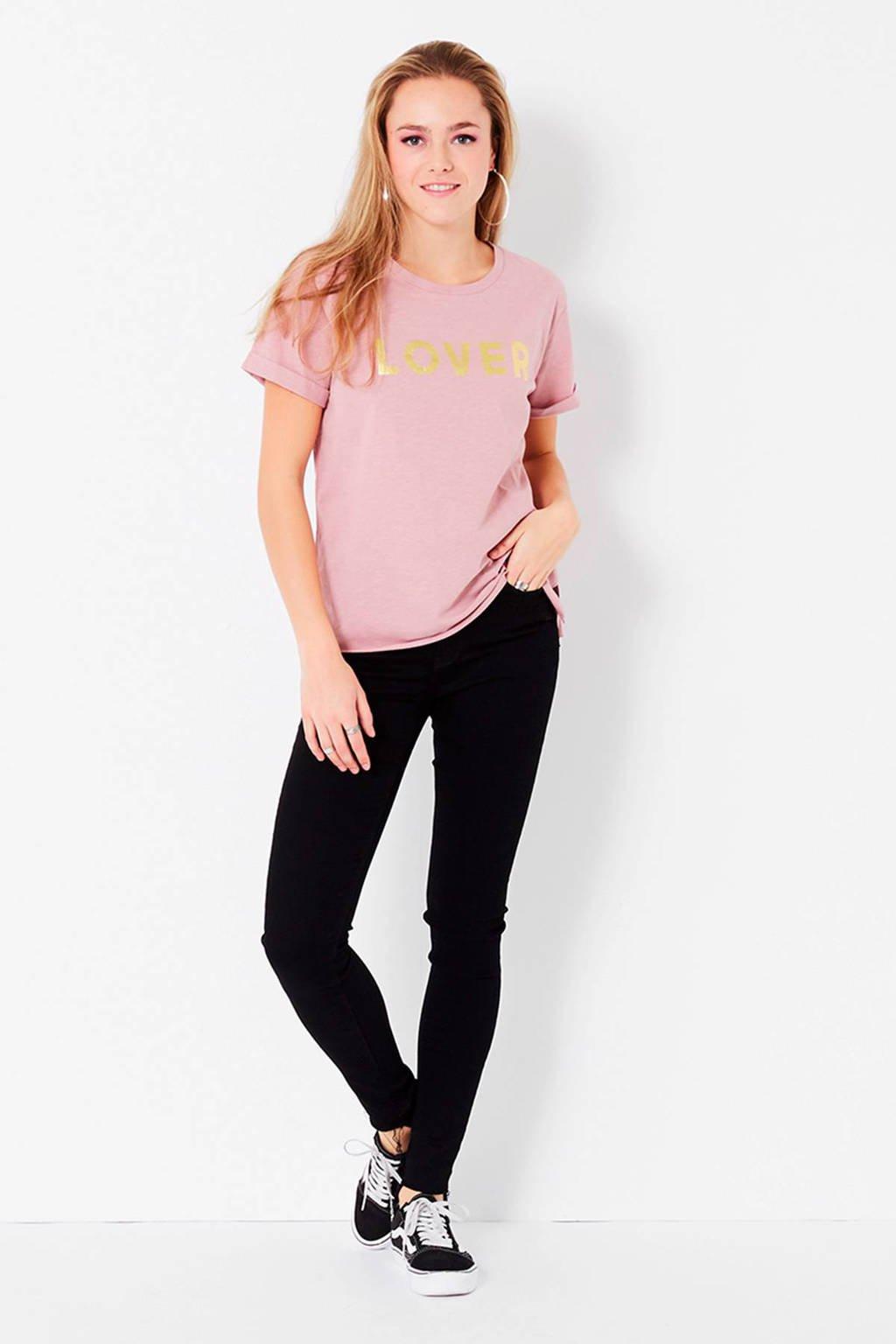 CoolCat oversized T-shirt, Oudroze